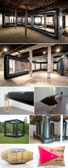 clive murphy art | inflatable art installation, contemporary art, collabcubed