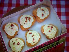 Richard's Rhubarb & Custard Toffee Apple Doughnuts Featured On The Great British Bake Off