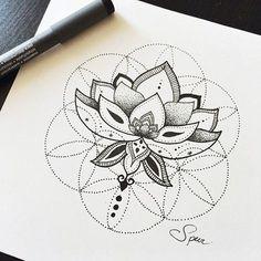 sacred geometry tattoo symbol
