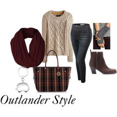 Designer Clothes, Shoes & Bags for Women Outlander Clothing, Fandom Fashion, Geek Fashion, Disney Fashion, Beautiful Outfits, Cute Outfits, Scottish Fashion, Disney Bound Outfits, Vogue