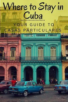You've got your plane tickets, a general idea of where you're going but  where are you going to stay? While there are many options throughout Cuba,   consider our compelling stance on why we believe Casa Particulares are  your best bet.