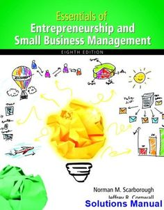 Free test bank for essentials of nursing research 8th edition by essentials of entrepreneurship and small business management 8th edition scarborough solutions manual fandeluxe Choice Image