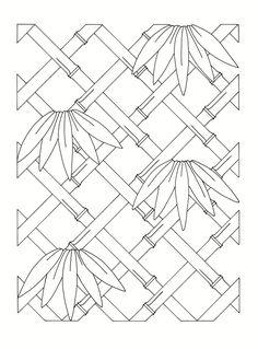 East Asian Designs - bamboo frame