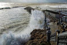 Sitges: Día de tormenta