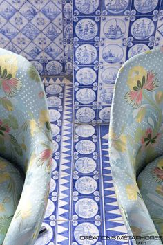 Metaphores - Cosmo Collection #interior #design #pattern #floral #colour