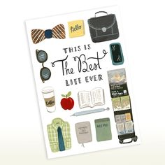 This is the Best Life Ever - Brothers Edition 5x7 Greeting Card, JW Pioneer, Elders, CO, JW Gift by SeasonedWSalt on Etsy https://www.etsy.com/listing/273646090/this-is-the-best-life-ever-brothers