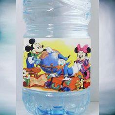 étiquette bouteille Mickey