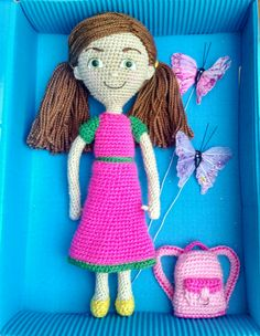 Sophia doll, Amigurumi. Visit my Instagram account little_gumi_pedidos