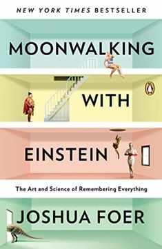 May 2012 Adult Book Club- Moonwalking with Einstein: the art and science of remembering everything by Joshua Foer (nonfiction) Book Club Books, The Book, Books To Read, My Books, Music Books, Einstein, Best Book Covers, Book Jacket, Book Cover Design