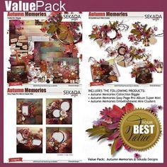 Value Pack: Autumn Memories