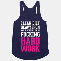 Fitness is a has a pretty simple recipe: Clean diet, heavy iron, and a whole lot of fucking hard work. Get inspired and get swole with this workout design.
