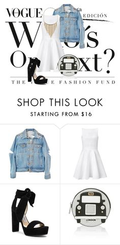 """""""Kiss"""" by agnesegundega ❤ liked on Polyvore featuring Chalayan, Jimmy Choo, Accessorize and Dorothy Perkins"""