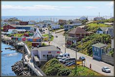 Port aux Basques Newfoundland It's a lovely quaint place! Newfoundland Canada, Newfoundland And Labrador, Great Places, Beautiful Places, Places To Visit, Atlantic Canada, Canada Eh, Holiday Places, Canada Travel