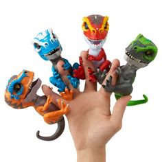 Untamed T-Rex by Fingerlings - Scratch (Orange) - Interactive Collectible Dinosaur - By WowWee Kids Toys For Christmas, Christmas Fun, Holiday, Fnaf Action Figures, Baby Dolls For Kids, Wow Wee, Girl Toys Age 5, Cute Animal Memes, Popular Toys