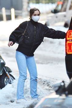 Lily Rose Melody Depp, Lily Rose Depp Style, Lily Depp, Vanessa Paradis, Cold Weather Outfits, Fall Winter Outfits, Johnny Depp, Kylie Jenner, New York