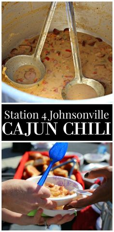 Station 4 Johnsonville Cajun Chili - a delicious recipe created by real firemen in Birmingham, Alabama.  It will have you coming back for seconds. #Chili