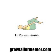 Piriformis Stretch - Grow Taller Exercises