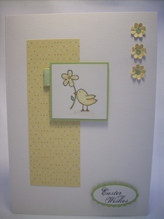 Easter - nice simple layout for any card