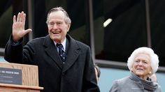 An overactive thyroid gland was reportedly the cause of former president H. W. Bush's atrial fibrillation.