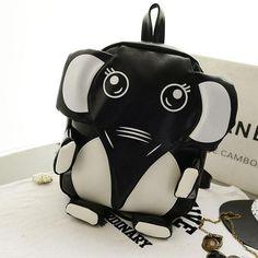 Cute Pretty Cartoon Elephant Backpack #bag Backpacks For Teens School, Boys Backpacks, Backpack For Teens, School Bags, Retro Backpack, Travel Backpack, Backpack Bags, Cartoon Elephant, Cute Elephant