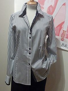 Basler Pink Zebra Blouse 38 Pattern