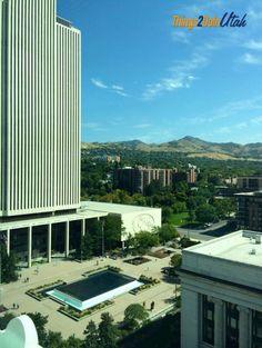 Joseph Smith Memorial Building - formerly Utah Hotel - things2doinutah.com - beautiful place for weddings! #utah #mormon #joseph #smith #memorial #building