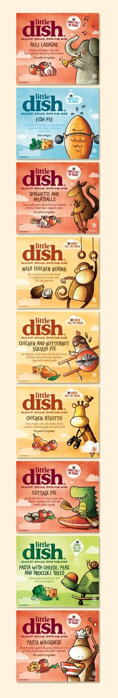 Little Dish your daily #packaging smile curated by Packaging Diva : ) PD