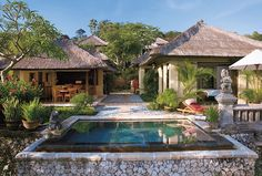 Luxury rentals from Four Seasons Situated adjacent to Four Seasons Resort Bali at Jimbaran Bay and only steps from the beach, Residential Rental luxury villas offer open-air living for a refreshing island escape.