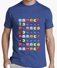Camiseta Comecocos A Camiseta hombre clásica, calidad premium  18,90 € - ¡Envío gratis a partir de 3 artículos!