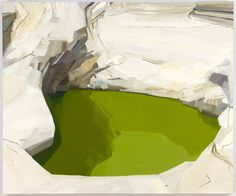 """Claire Sherman Hole V , 2009, 60"""" x 72"""", Oil on canvas"""