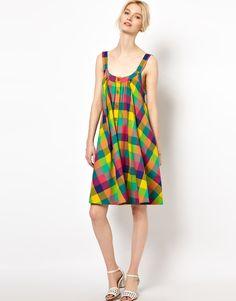 madras check dress - Google Search