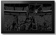 NBA Basketball Black
