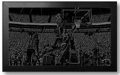 NBA Basketball Black