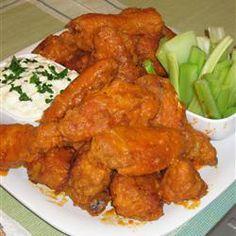 Buffalo chicken wings recipe - very delicious