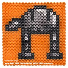 AT-AT  - Star Wars perler beads by May the 4th be with You Party Anette