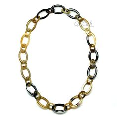 QueCraft Horn Chain Necklace - Q10863