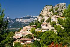 La Roque-Alric in the Provence-Alpes-Côte d'Azur region of France