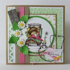 Marianne Design Challenge Blog 3d Cards, Marianne Design, Wells, Daisy, Challenges, Frame, Blog, Decor, Picture Frame