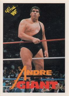 1990 Classic WWF Andre the Giant