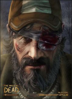 I`m still taking a beaten. EVERY DAY. Kenny from the Walking Dead game.
