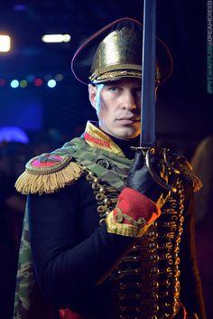 Ibram Gaunt by on DeviantArt 40k Armies, 40k Imperial Guard, Steampunk Men, Rogue Traders, Warhammer 40k Art, The Grim, Best Cosplay, Emperor, Nyx