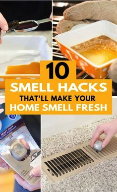 Want your home to smell good all the time? Here are 10 DIY home smell hacks that'll keep your home smelling good without breaking the bank. Hacks Diy, Home Hacks, Cleaning Hacks, House Smell Good, House Smells, Diy Rustic Decor, Cool Diy Projects, Craft Projects, Easy Diy Crafts