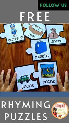 Bilingual Classroom, Bilingual Education, Classroom Language, Spanish Lessons, Teaching Spanish, Spanish Teacher, Phonics Activities, Classroom Activities, Kindergarten Literacy