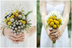 small but charming wedding bouquet for the petite bride