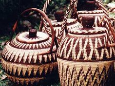 Pattern inspiration (for a backsplash, for instance): baskets from Papua New Guinea 2