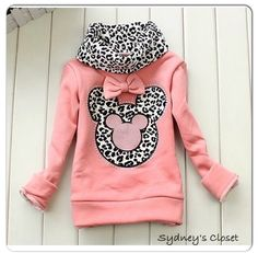 Minnie Mouse Sweater for Toddler and Girls