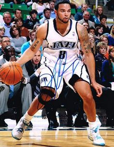 Deron Williams Autographed 11x14 Photograph #SportsMemorabilia #UtahJazz