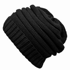 Black Thick Oversized Slouchy Knit Beanie Cap Hat http://www.amazon.com/Black-Thick-Oversized-Slouchy-Beanie/dp/B004UQDNFY/