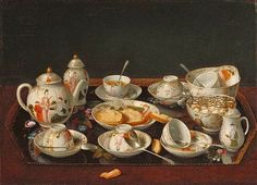 "18C American Women: A brief history of tea in England & her colonies leading to American ""Tea Parties"""