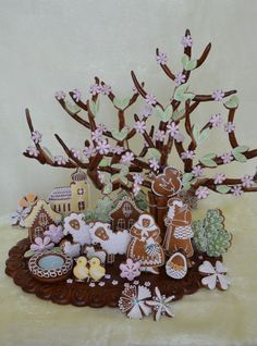 easter cookies scenery (only photo)